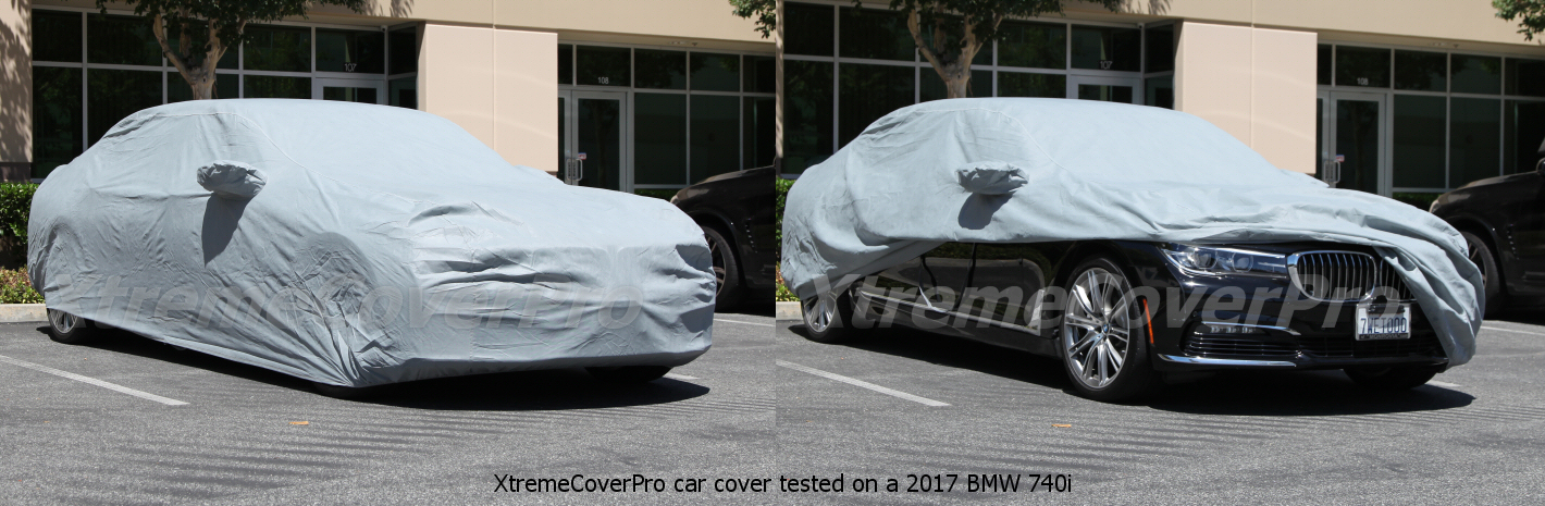 2002 2003 2004 2005 BMW 745i 745iL Breathable Car Cover w//MirrorPocket