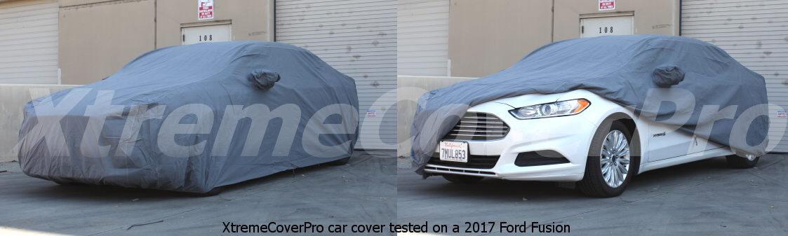2016 2017 2018 2019 FORD FUSION BREATHABLE CAR COVER W//MIRROR POCKET BLACK
