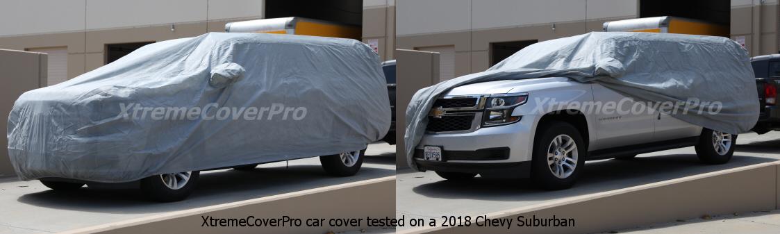2007 2008 2009 2010 2011 2012 2013 Chevy Suburban Breathable Car Cover