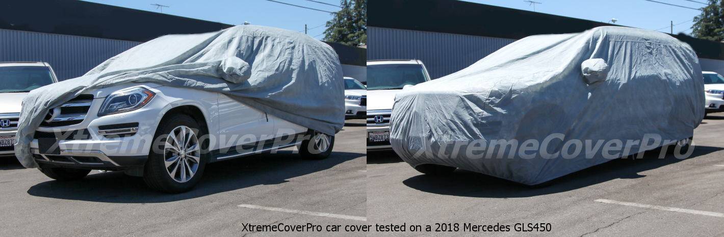 2013 2014 MERCEDES-BENZ GL350 GL450 GL550 GL63 WATERPROOF CAR COVER W//MIRRORPOCK