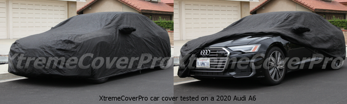 2016 2017 2018 2019 AUDI A6 S6 BREATHABLE CAR COVER W//MIRROR POCKET-BLACK